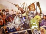 Gallic War under siege by pegasusandco