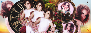 Lily Collins. by FK4twigs