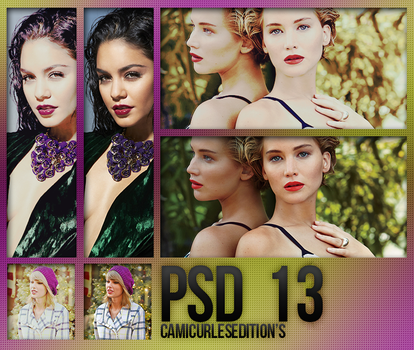 +PSD COLORING| 13 by CAMI-CURLES-EDITIONS