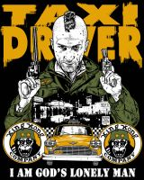 TAXI DRIVER TEE by MalevolentNate