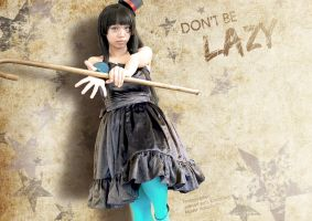 Don't be Lazy by 23rdAngel