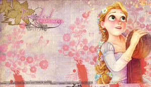 tangled  wallpaper by lovecocoabeans