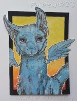 ACEO - PurpleWish23 by AlexiaMoonshine