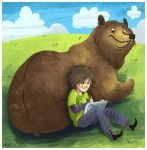 Me and my Bear by MelDraws