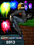 2013 - New Year, New Adventure by I3-byUsagi