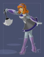 Robot Daphne ($20 Commission) by AtomicTiki