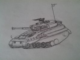 Sneak Peak of the P-117 LAV (SKETCH) by Nics-MP