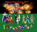 Happy New Year! 2017 by BeeWinter55