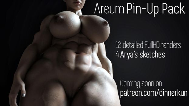 Areum Pin-Up Pack [TEASER] by Dinner-Kun
