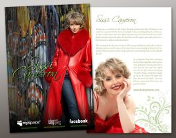 Country singer promo card by neverdying