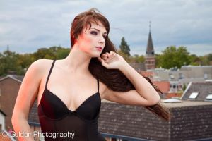 Lingerie roof 01 by GuldorPhotography