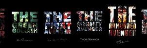 HEROES SERIES: Poster X - THE MARVEL UNIVERSE by MrSteiners