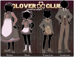 Clover CLub .:Uniforms:. by Mifuu