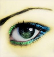 eye makeup by delinquant