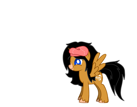 Sue as a pony by Trainered24