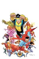 Invincible cover by RyanOttley