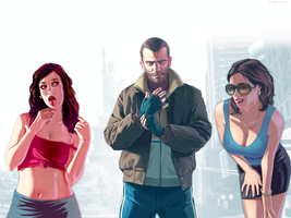 Wallpaper GTA IV by Coveri