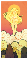 Sun Goddess by GusDraws
