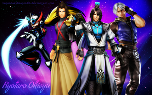 Ryotaro Okiayu's Characters by LegendaryDragon90