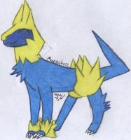 Manectric by Nabooru16