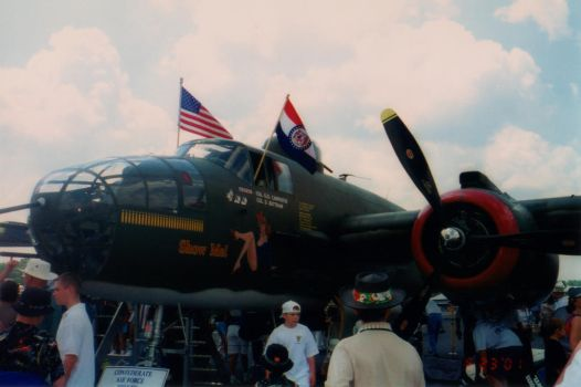 2001 AEDC Air Show - B-25 Mitchell by squirrelismyfriend