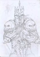 The lich king - sketches by JohnRamb0