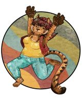 tiger girl thing title wheee by PickledAlice