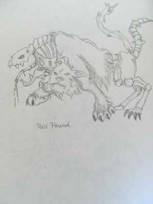 (Dark) Tier 5 - Hell Hound