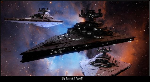 The Imperial Fleet II by Yunners