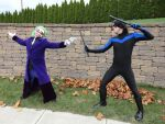 The Joker vs. Nightwing by BlitzkriegCosplay