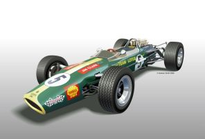 Lotus 49 by yeahbutnobut