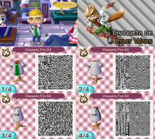 QR Code ACNL: Chaqueta Fox (Lylat Wars/StarFox 64) by One-Eco