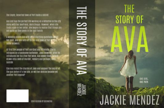The Story of Ava   [book jacket ] by itsyesi