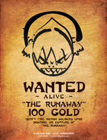 Toph's Wanted Poster by justincurrie