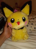 Pichu Backpack Upright by Allyerion