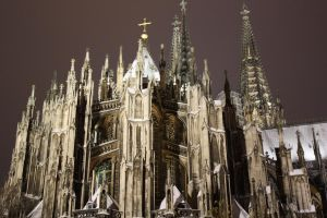 Cologne Cathedral by Nowhere-To-Be-Seen