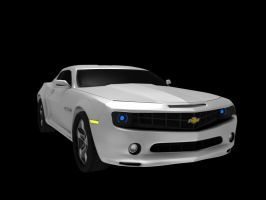 2010 Chevy Camaro by fusobotic