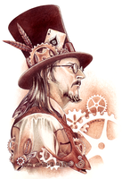 Steampunk Claypool by tavington
