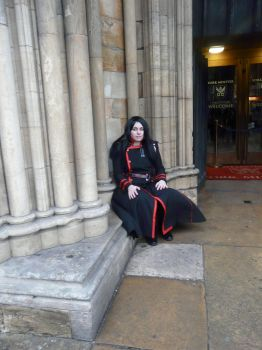 Yu waiting by NorthEast-Cosplayers