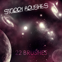 Starry Brushes by neotom130