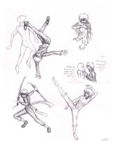 Dynamic Poses by InkDaemon