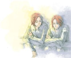 Weasley Twins by GENgoodstick