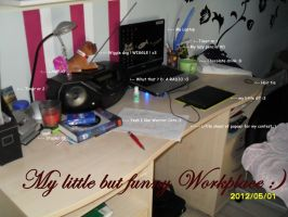 My Workplace 1 by Keshvel