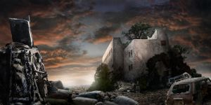 Apocalyptic Ruins by Kimsiang
