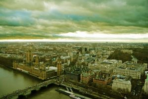 Panorama of London by auralsolat