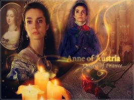 Anne of Austria, Queen of France by Nurycat