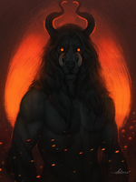 Born from the ashes by Amenlona