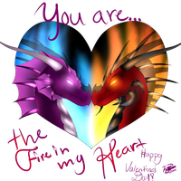 . : You are the Fire in my Heart : . by Kajatica