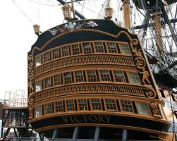 Stock - HMS Victory 1 by GothicBohemianStock