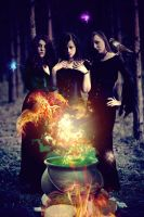 Power of Three by Enchanted-Red-Rose